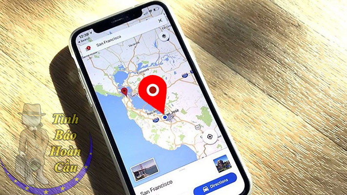 Dịch vụ định vị số điện thoại người khác đang ở đâu trên Google Map