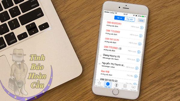 dịch vụ lấy danh sách nhật ký lịch sử cuộc gọi, tin nhắn