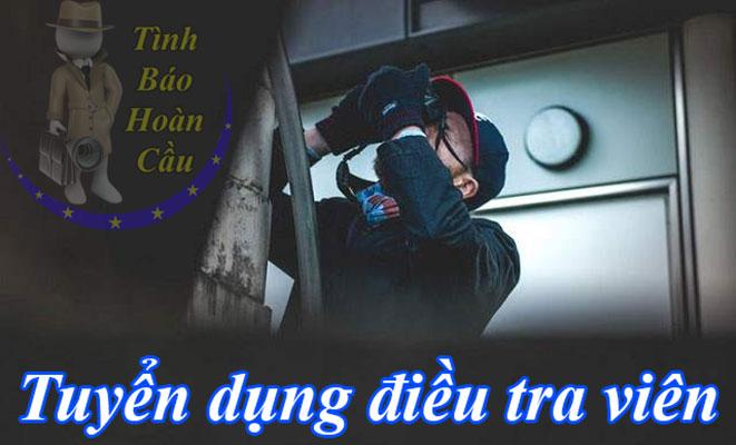 Tuyển dụng điều tra viên sơ cấp, cấp cao tại TPHCM, Hà Nội, Đà Nẵng