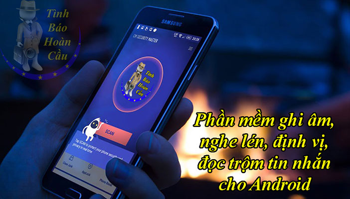 Phần mềm ghi âm cuộc gọi bí mật chạy ẩn trên Android