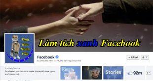 Bảng giá dịch vụ làm tích xanh Facebook Fanpage