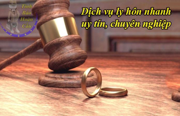 Dịch vụ ly hôn nhanh tại TPHCM trọn gói, giá rẻ, uy tín