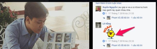 - Bước 4: Tìm bình luận người yêu bạn trên Facebook