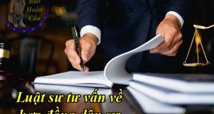 Dịch vụ luật sư tư vấn giải quyết tranh chấp hợp đồng dân sự tại Tòa án