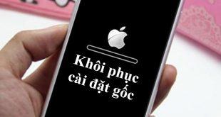 Điện thoại iPhone jailbreak có khôi phục cài đặt gốc được không?